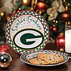 NFL Santa Cookie Plate