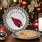 Arizona Cardinals Santa Cookie Plate