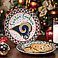 St. Louis Rams Santa Cookie Plate