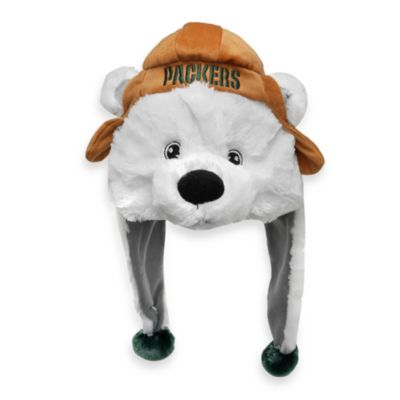Green Bay Packers Mascot-Themed Dangle Hat