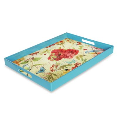 Garden Passion Rectangular Serving Tray