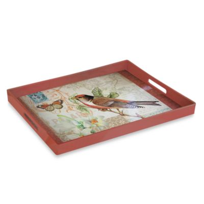 Oak Avenue Rectangular Serving Tray