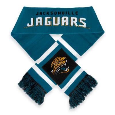 NFL Jacksonville Jaguars Stripe Scarf