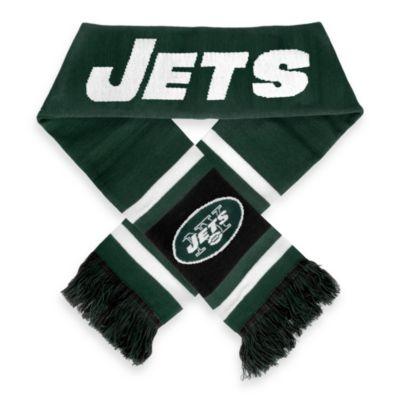 NFL New York Jets Stripe Scarf