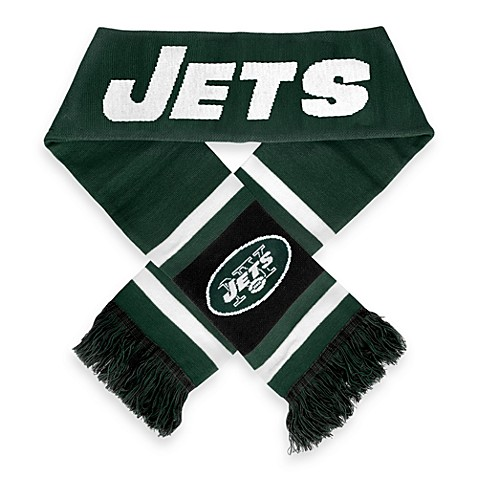 NFL New York Jets Stripe Scarf