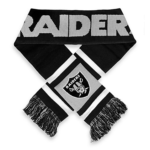 NFL Oakland Raiders Stripe Scarf