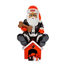Cleveland Browns Thematic Santa