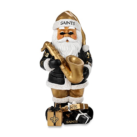 New Orleans Saints Thematic Santa