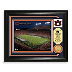 Auburn University Football Stadium Minted Team Medallion Photo Frame