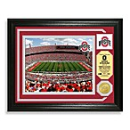 Ohio State Football Stadium Minted Team Medallion Photo Frame