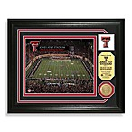 Texas Tech Football Stadium Minted Team Medallion Photo Frame
