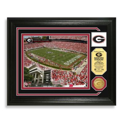 University of Georgia Football Stadium Minted Team Medallion Photo Frame