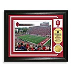Indiana University Football Stadium Minted Team Medallion Photo Frame