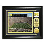 University of Michigan Football Stadium Minted Team Medallion Photo Frame