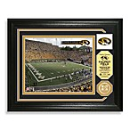University of Missouri Football Stadium Minted Team Medallion Photo Frame
