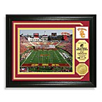 USC Football Stadium Minted Team Medallion Photo Frame