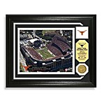 University of Texas Football Stadium Minted Team Medallion Photo Frame