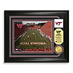 Virginia Tech Football Stadium Minted Team Medallion Photo Frame