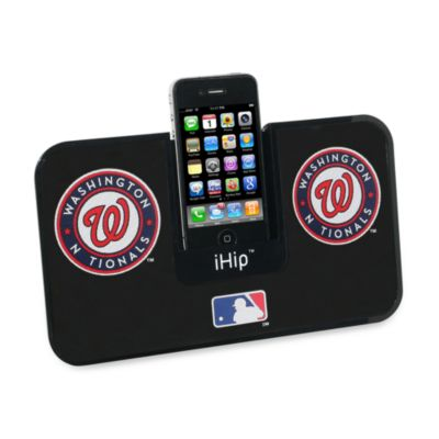 MLB Washington Nationals iHip® iDock Portable Stereo System