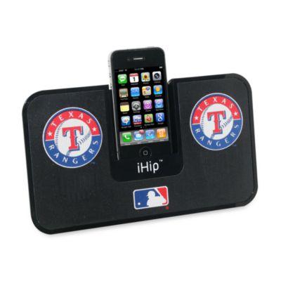 MLB Texas Rangers iHip® iDock Portable Stereo System