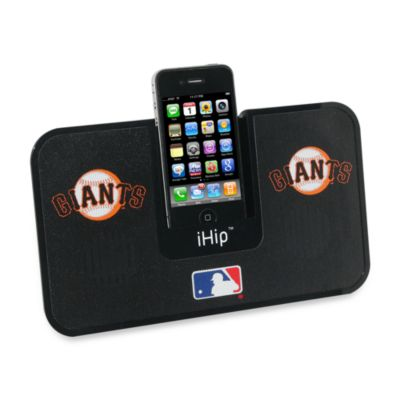 San Francisco Giants iHip® iDock Portable Stereo System