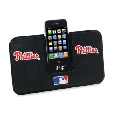 MLB Philadelphia Phillies iHip® iDock Portable Stereo System