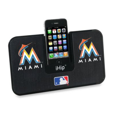 MLB Miami Marlins iHip® iDock Portable Stereo System