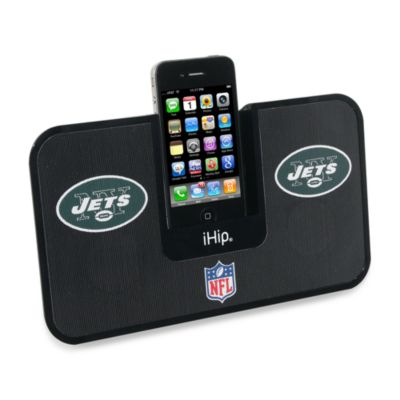 New York Jets iHip® iDock Portable Stereo System