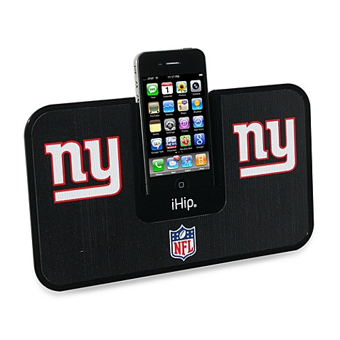 NFL New York Giants iHip® iDock Portable Stereo System