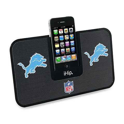 NFL Detroit Lions iHip® iDock Portable Stereo System