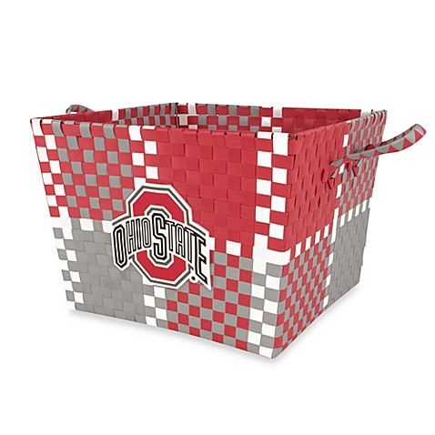 Ohio State Multi-Purpose Woven Storage Basket