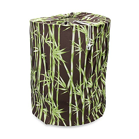 Park B. Smith® Bamboo Garden Coffeebean Laundry Bag