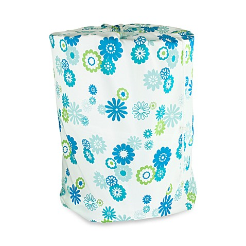 Park B. Smith® Starburst Floral Laundry Bag in Azure