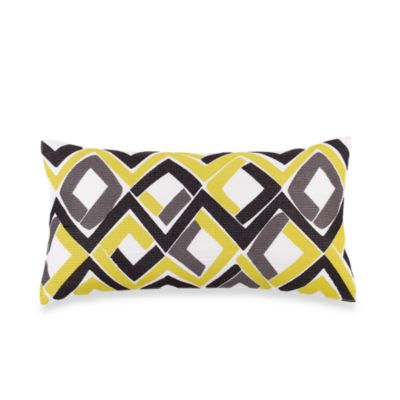 Trina Turk® Trellis Oblong Throw Pillow