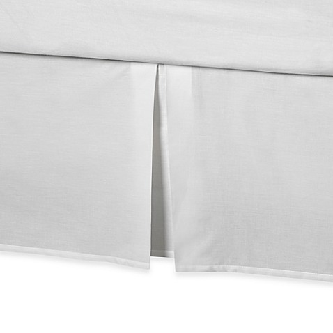 Nautica® Mainsail California King Bed Skirt in White