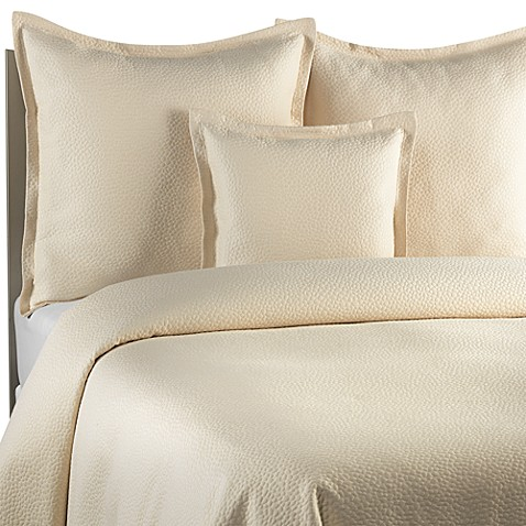 Barbara Barry Beautiful Basics Cloud Nine Coverlet in Powder
