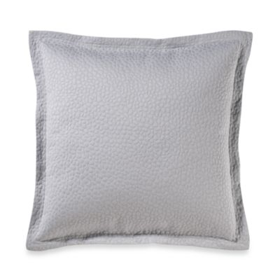 Barbara Barry® Cloud Nine 18-Inch Square Toss Pillow in Blue Water