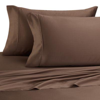 Eucalyptus Origins™ Sleep Renew Queen Sheet Set in Latte