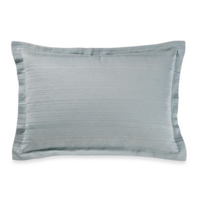 Real Simple® Linear Oblong Toss Pillow in Aqua