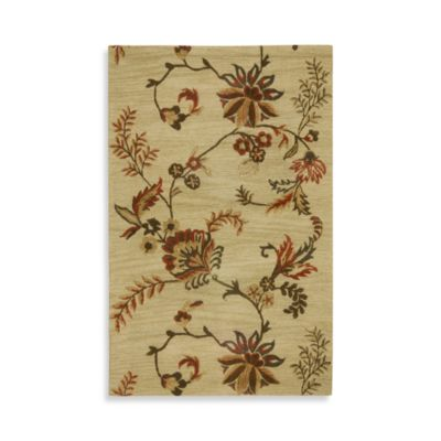 Rizzy Dimensions Collection Ashten Wool Rugs in Beige