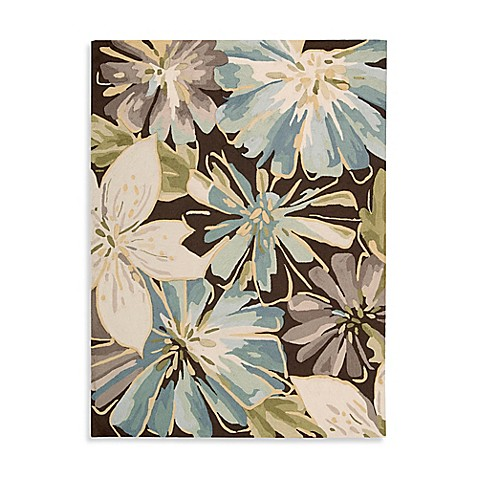 Nourison Bloom Blast Rugs In Chocolate Bed Bath Amp Beyond