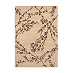 World Rug Gallery Elite Collection Branches Rug in Beige
