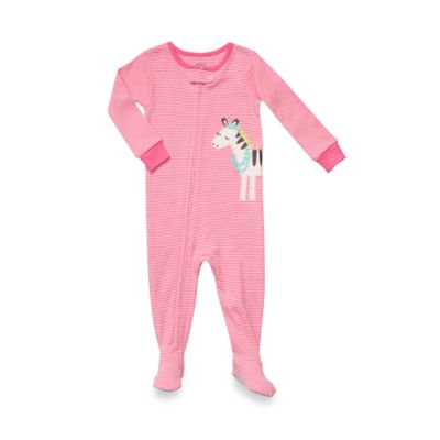 Carter's® Zebra Snug Fit Cotton 1-Piece Size 24 Months PJ in Pink