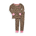 Carter's® Leopard Heart Snug Fit 2-Piece Cotton PJs