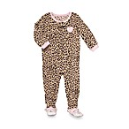 Carter's® Leopard 1-Piece Micro-Fleece PJ