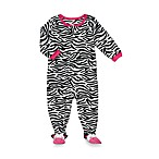 Carter's® Zebra 1-Piece Micro-Fleece PJ