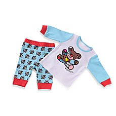 Britto™ Baby White & Blue Teddy Bear Playset