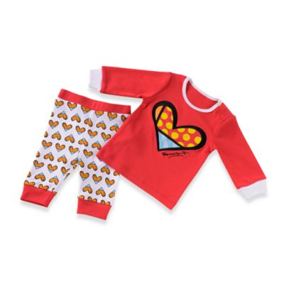Britto™ Baby Red & White Heart Play Set