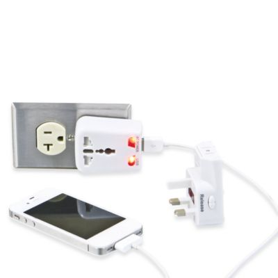 Travelon® Worldwide Adapter and USB Charger