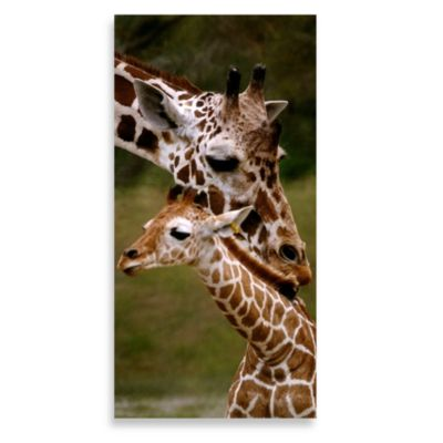 My Baby 12-Inch x 24-Inch Printed Canvas